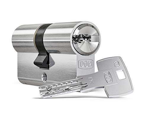 Schließzylinder DOM ix Twido Doppelprofilzylinder Länge: 35/45mm mit Bohr- und Ziehschutz mit 5 Schlüssel
