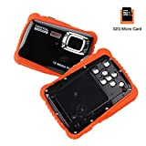 Smyidel Waterproof Mini Kid Camera High Definition 12MP HD 3M Underwater Swimming Digital