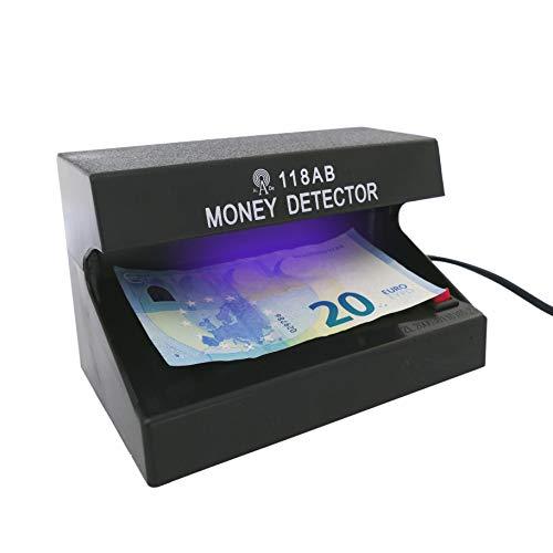 Detector de billetes falsos UV con 1 tubo de 4W 170x110x110mm (MM83)