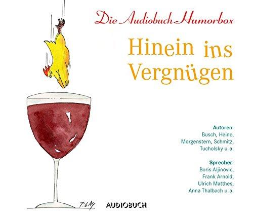 Hinein ins Vergnügen - Die Audiobuch-Humorbox (3 Audio-CDs mit 207 Min.)