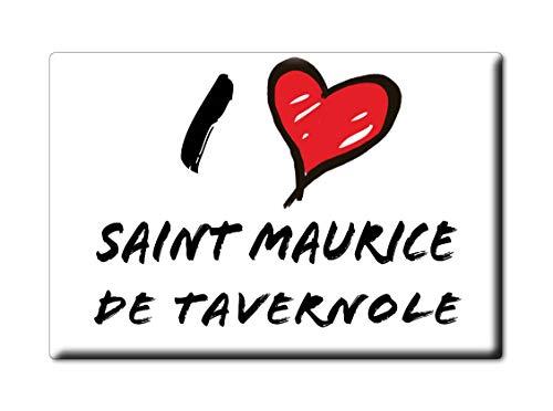 Enjoymagnets Saint Maurice DE TAVERNOLE Souvenir IMANES DE Nevera Reino Unido Provence Alpes CÔTE D