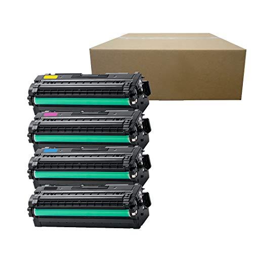 Inktoneram Compatible Toner Cartridges Replacement for Samsung CLP680 CLP-680 506L CLT-506L CLT506L CLX-6260FD CLX-6260FW CLP-680ND K506L C506L M506L Y506L ([Black,Cyan,Magenta,Yellow], 4-Pack)
