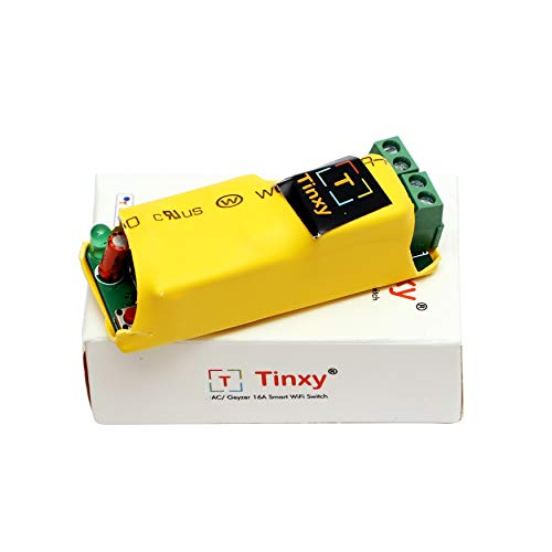 T Tinxy Device Smart Switch 16A for AC/Geyser. Compatible with Alexa and Google Home