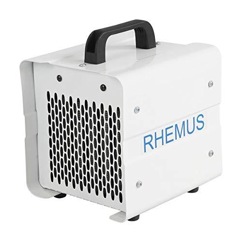 RHEMUS RH2 Elektroheizer, Keramik-Heizlüfter, Design-Heizgerät, 1kW / 2kW, Thermostat