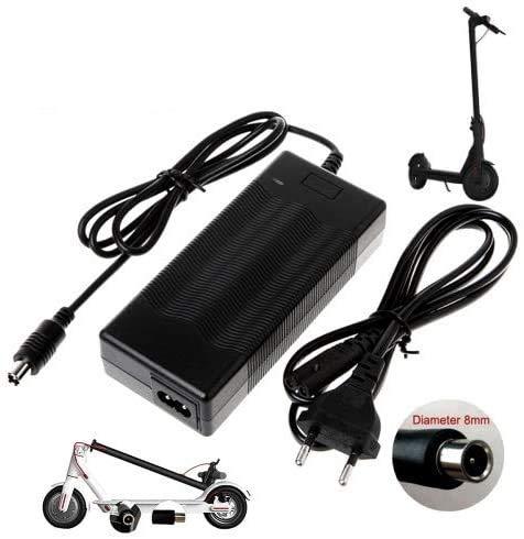 Top Chargeur - Adattatore di alimentazione, caricatore 42 V per monopattino elettrico pieghevole Xiaomi M365 Mi Electric Scooter