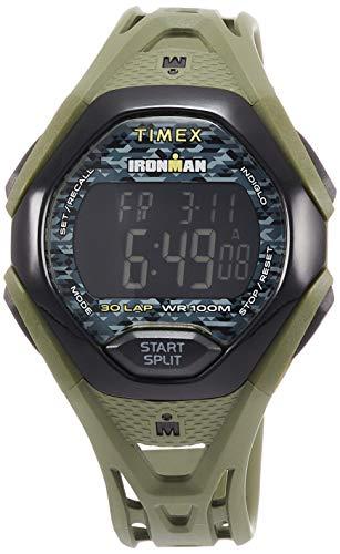 Timex Ironman Sleek 30 Reloj de resina verde TW5M23900