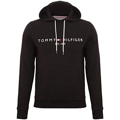 Tommy Hilfiger MW0MW08561-416 Tommy Logo Hoody Navy (Size XXXXXL) Big Size