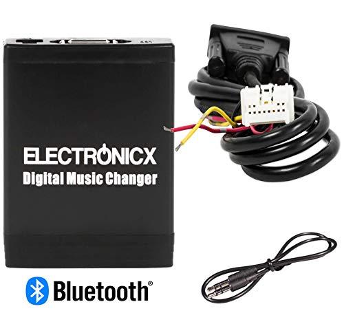 Electronicx Elec-M06-NIS-BT Adaptateur de Musique Digitale USB, SD, AUX, Bluetooth kit Mains Libres pour Nissan Infiniti