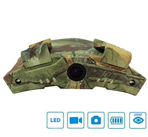 CCDYLQ Hat die Kamera, Freisprech-Digital-Tarnung-Action-Kamera, HD 1080P Recordings Sport Action Kamera mit 2 LED-Notleuchten Nachtsicht-Kamera