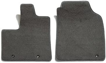 Premier Custom Fit 2-piece Front Carpet Floor Mats for Ford Pickup (Premium Nylon, Gray Mist)