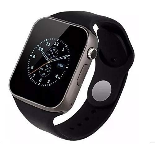 Smartwatch A1 Relógio Inteligente Bluetooth Gear Chip Android iOS Touch, SMS Pedômetro Câmera, Branco