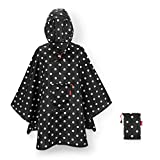 Reisenthel Mini Maxi Poncho Mixed Dots Housse Anti-Pluie, 141 cm, Noir (Mixed Dots)