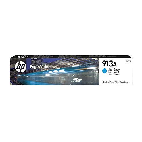 HP 913A Cyan Original Druckerpatrone für HP PageWide,