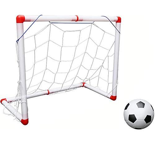 SHEHUIREN Portería De Fútbol para Niños, Equipo De Entrenamiento para Niños, Adecuado...