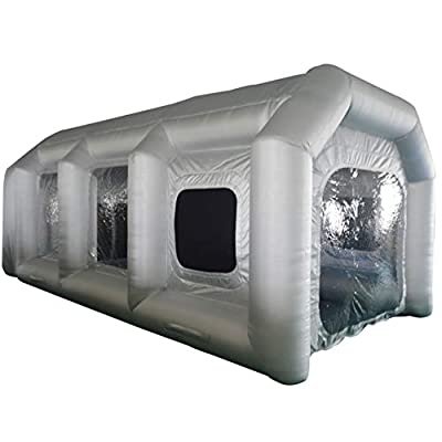 SAYOK Inflatable Spray Paint Booth with Filter System Portable Car Paint Booth
