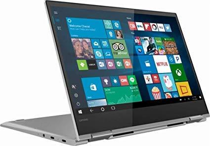 Product Image 4: , Lenovo Yoga 730 2-in-1 13.3″ FHD Touchscreen Laptop, Intel Core i5 1.6GHz, 8GB DDR4, 256GB PCIe SSD, Webcam, Bluetooth, Fingerprint Reader, Thunderbolt, Backlit Keyboard, Windows 10