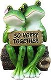 DWK So Hoppy Frogs - Figura Decorativa Divertida de San Valentín romántica para el...