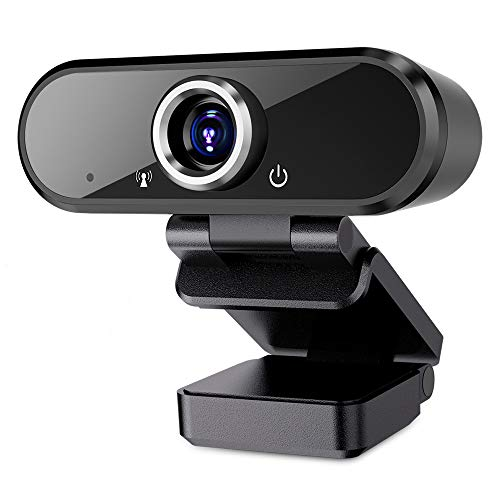 Webcam with Microphone, 1080P Full …
