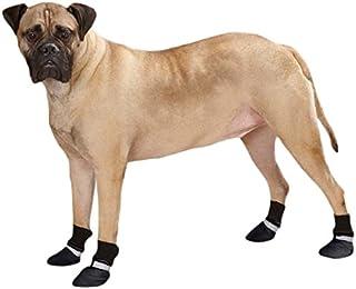 Guardian Gear Weatherized Fleece Dog Boots, Large, Black