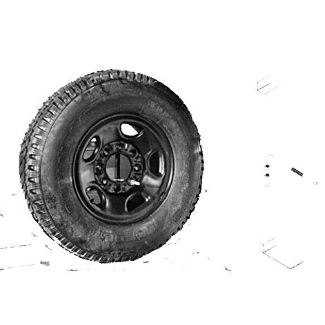 Spare Tire Carrier for Pick Up Trucks