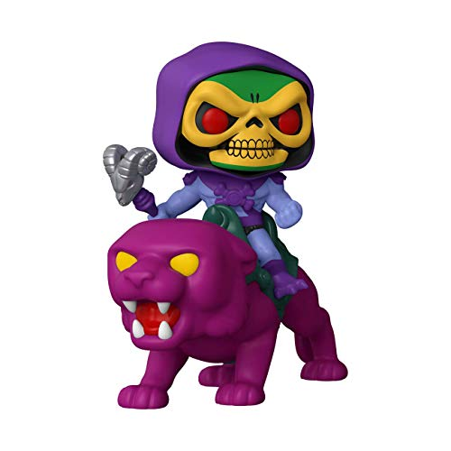 Funko- Pop Ride Masters of The Universe Skeletor on Panthor Juguete coleccionable,...