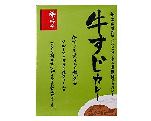 【柿安オンラインショップ】柿安本店 柿安 牛すじカレー 180g 90351