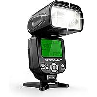 Geekoto GT53 Camera Flash Speedlite, LCD Display and Multi