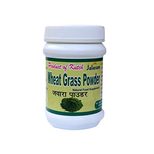 Jalaram 100% Natural Wheat Grass Powder for Better Health (100 gram)
