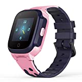 YONTEX 4G Montre Intelligente Enfant GPS Smartwatch Compatible iOS Android Support Appel Vidéo...