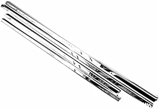 TX Racing Shipping from USA Polished Stainless Steel Window Sills Moldings for 2004-2015 Nissan Armada