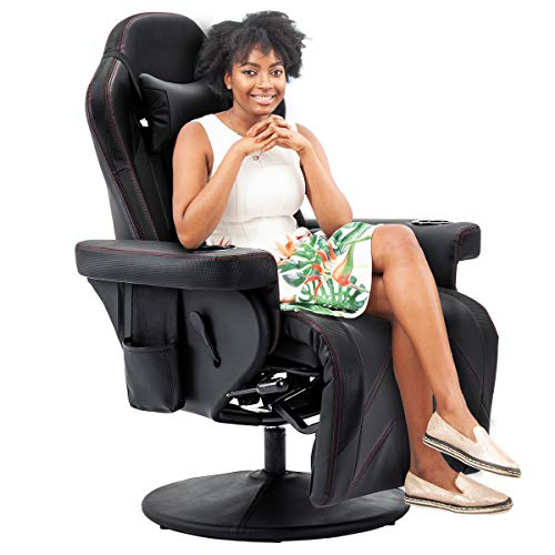 Reclining Gaming Chair Comfortable Chair for Gaming Adjustable headrest and Lumbar Support