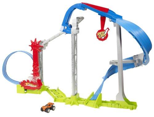Hot Wheels V2172 - Playset, Pista acrobatica