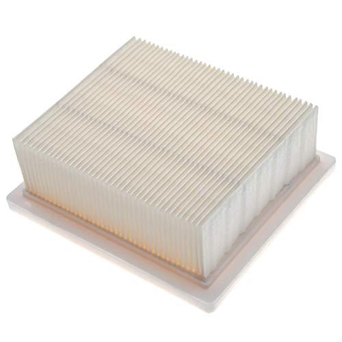 vhbw Filtro plisado plano reemplaza Hilti 2192229, VC 5, VC 75-1 para seco y húmedo - Elemento filtrante