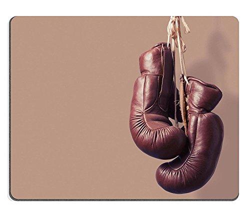 WYRUJYU Caucho Natural Gaming Mousepads Vintage Guantes de Boxeo para Colgar