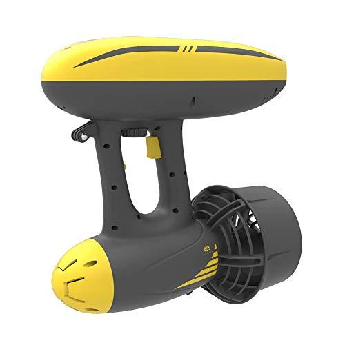 AQUAROBOTMAN Wasser Scooter, MagicJet Elektromotor Unterwasserjet-Roller für Erwachsene mit Kamerahalterung zum Tauchen (max. Antriebsgeschwindigkeit: 6,5 km/h) bis zu 50 Meter
