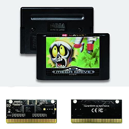 Yuva Decap Attack EUR Label Flashkit MD Carte PCB en or autocatalytique pour Console de jeu vidéo Sega Genesis Megadrive (sans région)
