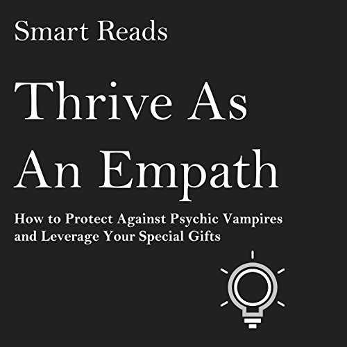 Thrive as an Empath audiobook cover art