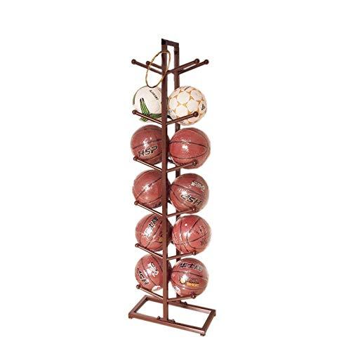 Pelota Carro Baloncesto de Almacenamiento en Rack de visualización de la Bola Voleibol Fútbol Adecuado for Escuelas Hogares oficinas y Otros Lugares Carros portabalones