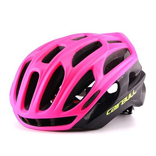 JKHOIUH Casco para ciclistas Casco de seguridad para bicicletas Adecuado para entusiastas...