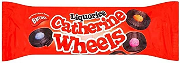 Barrat Liquorice Catherine Wheels - 113g
