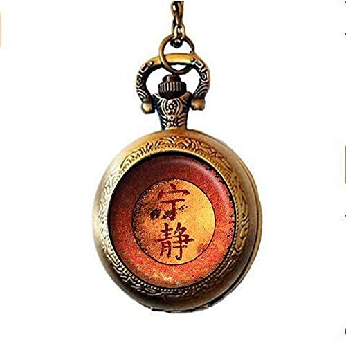 Firefly Serenity Pocket Watch Necklace - Serenity Jewelry - Firefly Jewelry