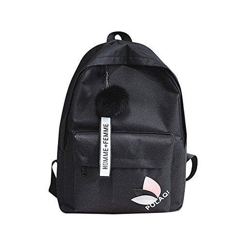 OYSOHE Unisex Rucksack, Mode Neutral Segeltuch Rucksack Tasche Schulter Leinwand Schule Mädchen Junge Handtasche