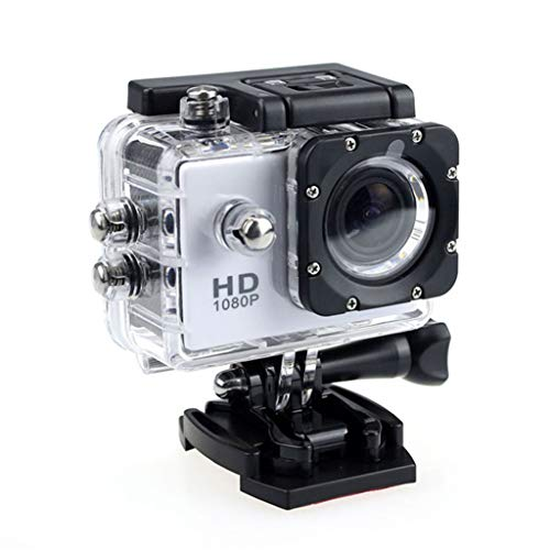 Tuuu HD1080P Action Camera Waterproof Underwater DVR Cam DV Video Camcorder Sport Action Camera with Waterproof Case ,Camera Holder,Battery,USB Cable
