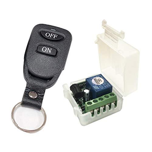 #N/A/a Control Remoto por Radio CC12V 1 Vía/Vía Interruptor para El Hogar, La Industria, 2 Colores - B