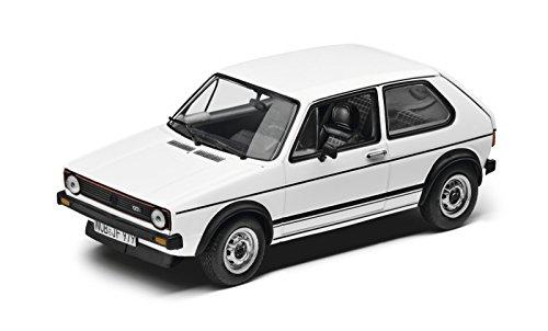 Original VW Volkswagen Golf 1 GTI Modellauto 1:43 Weiss