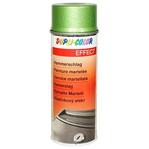 DUPLI-COLOR, Vernice spray, effetto martellato, 400 ml, Verde (grün) - 467448