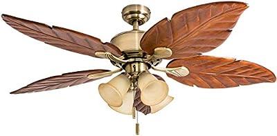 "Honeywell Ceiling Fans 50504-01 Royal Palm Ceiling Fan, 52"""