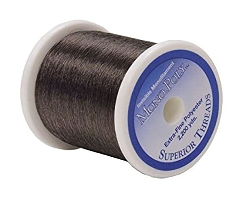 Mono Poly Superior Invisible Quilting Thread - Smoke