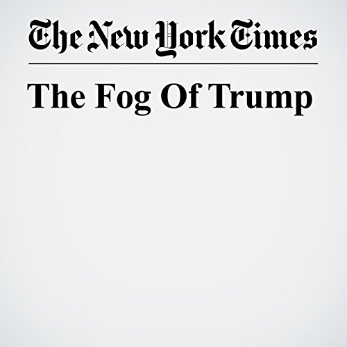 The Fog Of Trump copertina