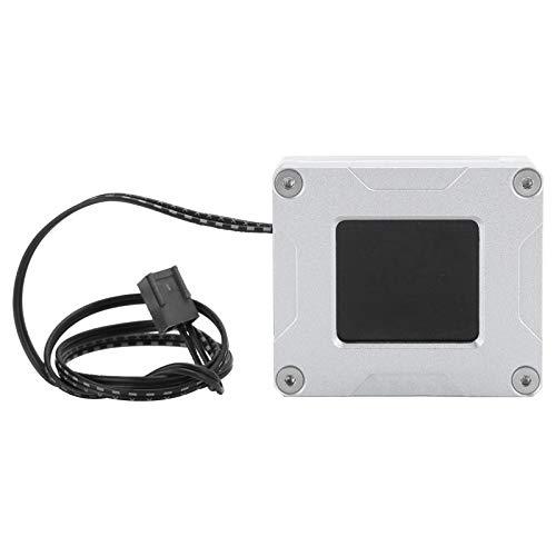 Hyuduo1 Medidor de Flujo Computadora Refrigeración por Agua Datos eléctricos RPW Termonímetro de Velocidad LSJ-PMZN, admite Pantalla LCD de Temperatura, se actualiza Cada 0.5 s.
